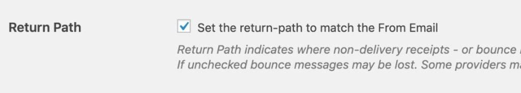 Return Path Kubito SMTP plugin