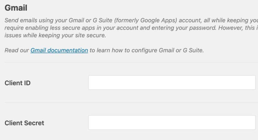 Client & Secret Kubito SMTP
