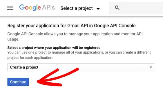Google API progetti