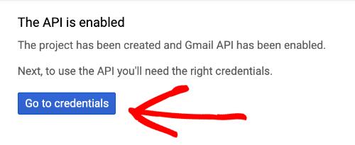 Google API credenziali