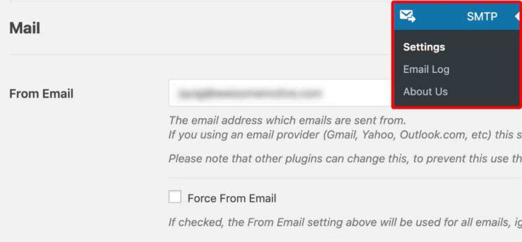 Kubito SMTP plugin